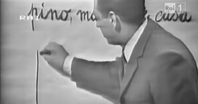 """""""Non è mai troppo tardi"""", 60 anni fa la prima puntata del maestro che portò la scuola in tv. La figlia: """"Ci si trovava al bar pur di sentirlo"""""""