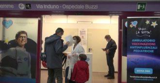 Il vaccino antinfluenzale, a Milano, lo spray viene somministrato ai bambini nella stazione della metro: funziona così