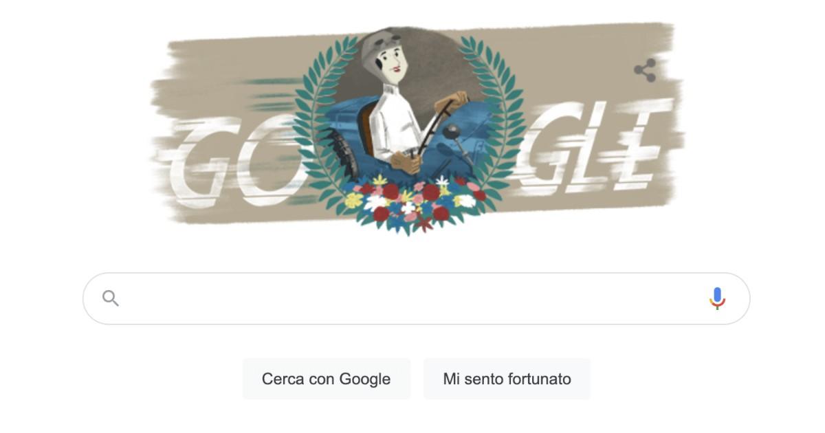 doodle di google oggi e dedicato a eliska junkova ecco chi e il fatto quotidiano doodle di google oggi e dedicato a