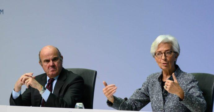 """De Guindos (Bce) gela Sassoli sull'ipotesi di cancellazione del debito: """"i trattati lo vietano"""""""