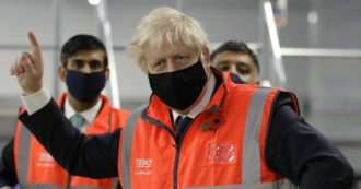 Boris Johnson in isolamento: