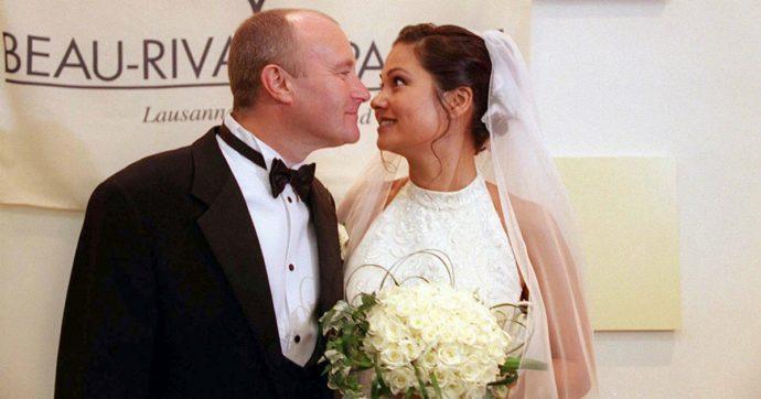 """""""Phil Collins non si è lavato per un anno, puzzava così tanto"""": le rivelazioni dell'ex moglie Orianne Cevey"""