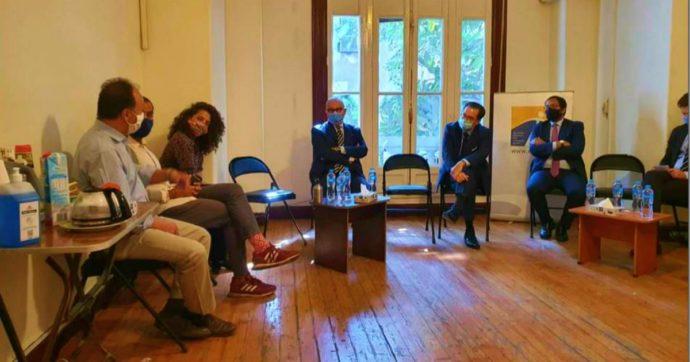 Egitto, arrestato direttore ong dove lavorava Zaki: il 3 novembre tenne incontro sui diritti umani insieme all'ambasciatore italiano