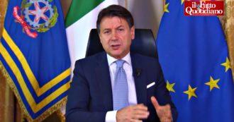 """Recovery Fund, Conte: """"Italia in ritardo nella presentazione del piano? È una fake news"""""""