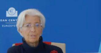 """Bce, Lagarde risponde a Sassoli: """"Cancellazione del debito? La mia risposta è molto breve, va contro i trattati"""""""