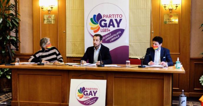 """Nasce a Roma il Partito Gay, nuovo movimento per la comunità Lgbt+: """"Possiamo ambire al 15%, non lasciamo ad altri le nostre istanze"""""""