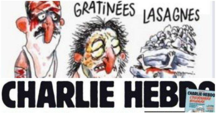 """Archiviata la denuncia di Amatrice contro Charlie Hebdo: per il tribunale di Parigi era """"irricevibile"""""""