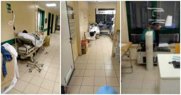 """""""Pazienti accampati in corridoio per giorni"""": al pronto soccorso di Civitanova Marche è il caos mentre Covid hospital saccheggia il personale"""
