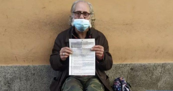 """Como, multa di 400 euro a un senzatetto per essersi allontanato dal suo domicilio """"senza essere in grado di motivare lo spostamento"""""""