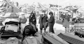 """""""L'Italia del terremoto, la solidarietà e il mare di bare giù dai monti"""""""