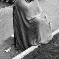 Napoli 24 nov 1980-In piazza Municipio la mattina dopo il terremoto
