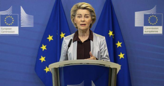 """Recovery fund, von der Leyen: """"L'Italia è sulla strada giusta"""". Conte: """"C'è dibattito pubblico sul fatto che siamo indietro, non è vero"""""""