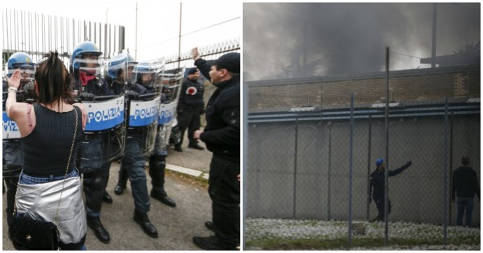 """Roma, 9 arresti per le rivolte a Rebibbia: """"Si continua a indagare su collegamenti con i disordini negli altri penitenziari"""""""