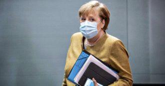 """Covid, Germania estende semi-lockdown fino al 20 dicembre. Incontri fino a 10 persone a Natale. Merkel: """"Ue vieti sci fino al 10 gennaio"""""""