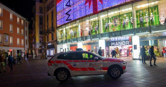 """""""Attentato terroristico"""" a Lugano: una donna attacca due persone con un coltello in un centro commerciale. """"Era nota alle autorità"""""""