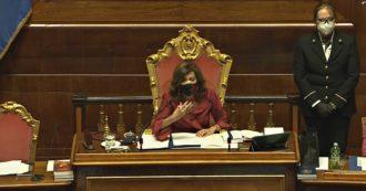"""Casellati interrompe Endrizzi: """"Non infanghi il nome della Santelli"""". Il senatore M5s: """"Mai fatto, lei mi censura senza ascoltarmi"""""""