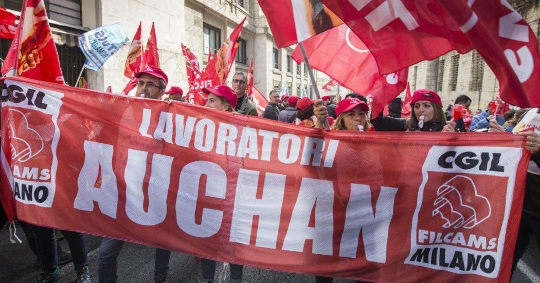 """Auchan, tribunale di Torino: """"Continua la condotta antisindacale dell'acquirente Conad. Informi sulla cig anche Filcams Cgil e Uiltucs"""""""
