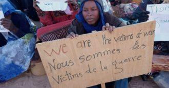 """""""Stuprata in Libia e da due anni coi miei figli in Tunisia in attesa del ricollocamento. Ma l'Europa è lontana"""""""