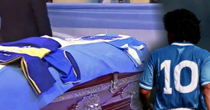 """Maradona, l'Argentina """"dimentica"""" il Napoli durante l'ultimo saluto alla Casa Rosada"""