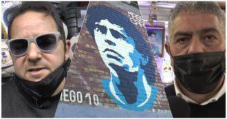 Maradona a Napoli celebra il suo eroe tra racconti e cimeli: