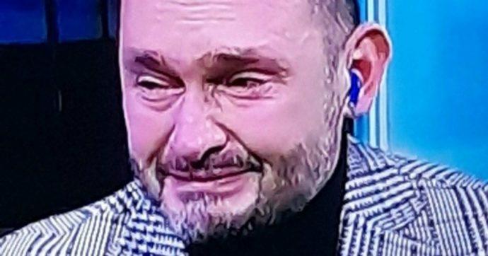A Sky Sport arriva la notizia della morte di Maradona, Gianluca Di Marzio scoppia a piangere in diretta