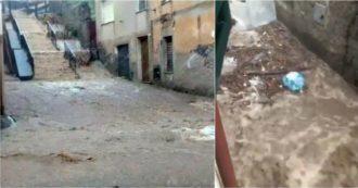 Maltempo in Sardegna, tre vittime e dispersi nel Nuorese. Crollato ponte tra Osidda e Bitti, allagamenti sull'isola