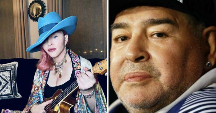 """""""Madonna è morta"""": scambiano la cantante per Maradona. Il caos social"""