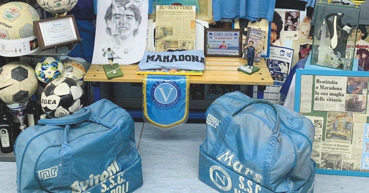 Il museo segreto di Maradona nella casa dell'ex governante
