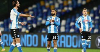 Maradona, il Napoli omaggia Maradona: in campo con maglia in stile Argentina. De Magistris conferma intitolazione dello stadio – FOTO