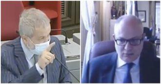 """Mes, Borghi (Lega) attacca Gualtieri: """"La diffido, se dà l'ok alla riforma si assume la responsabilità penale"""". Il ministro: """"Osservazioni fuori luogo"""""""