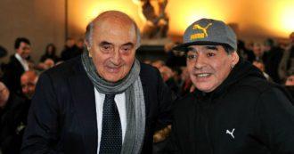 """Maradona, Ferlaino contro Cabrini: """"Alla Juve si sarebbe salvato? E quel giocatore che si è suicidato? Al Napoli non sarebbe successo"""""""