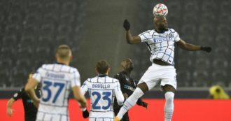 Borussia Mönchengladbach-Inter 2-3: Conte vince grazie a Lukaku e spera. I nerazzurri ancora in corsa in Champions