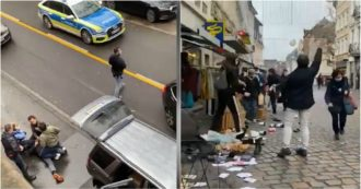 Germania, auto piomba nella zona pedonale di Treviri: la polizia blocca un uomo. Ecco le prime immagini