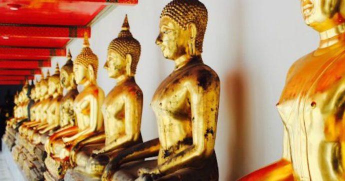 Monaco si taglia la testa con una ghigliottina per compiacere Buddha. Il corpo scoperto dal nipote