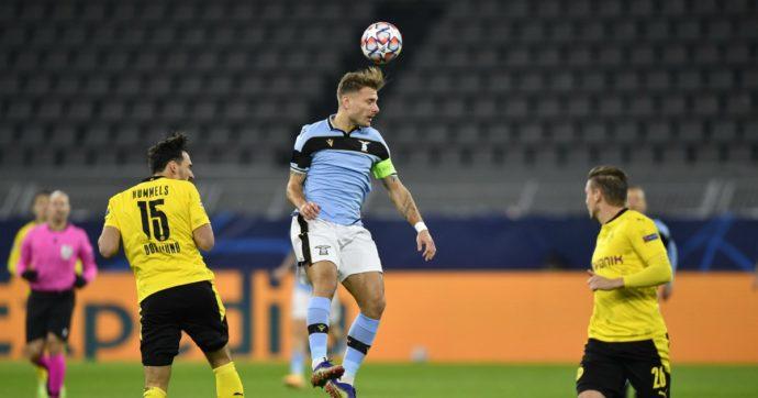 Borussia Dortmund – Lazio 1 a 1, per Inzaghi qualificazione rinviata: ora per gli ottavi basta un pareggio col Bruges