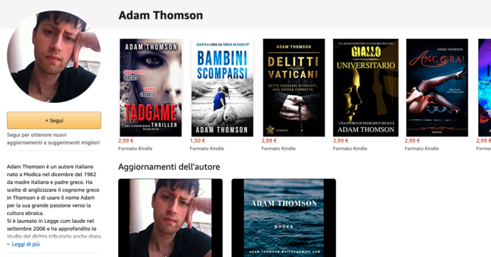 Adam Thomson, un self-publisher da un milione di pagine lette