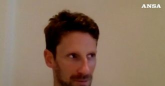 """Formula 1, Grosjean dimesso dopo il grave incidente in Bahrein: """"Mano sinistra danneggiata"""". Ecco il videomessaggio"""