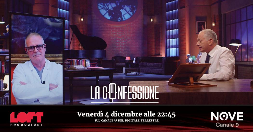 Alberto Zangrillo ospite di Peter Gomez a La Confessione venerdì 4 novembre alle 22.45 su Nove