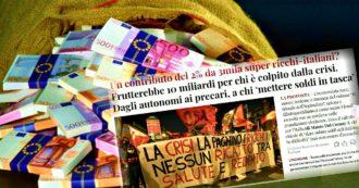 Contro la crisi Covid sì a un contributo del 2% per ricchezze superiori a 50 milioni. Firma la petizione de ilfattoquotidiano.it