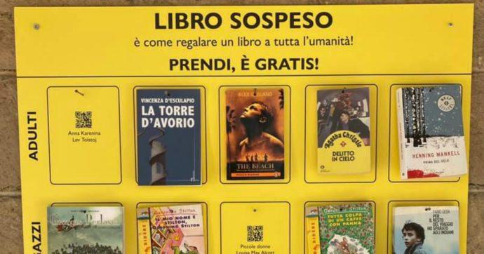 Il nostro Libro Sospeso a Scampia: dove prima si vendeva la droga oggi si spacciano letture