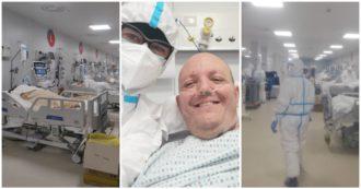 Da caposala a paziente Covid, la testimonianza dell'infermiere di Civitanova: 'Ai negazionisti consiglio di fare un giro nelle terapie intensive'