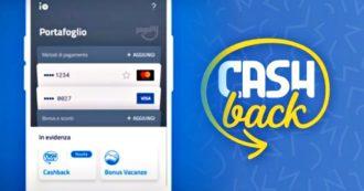 """Cashback, 3,6 milioni di iscritti. PagoPa: """"La app Io non profila né geolocalizza gli utenti e non registra il tipo di acquisto fatto"""""""
