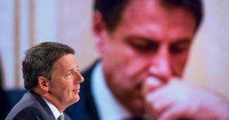 """Renzi minaccia Conte sulla gestione dei soldi del Recovery: """"Si fermi, a meno che non abbia un'altra maggioranza"""". Rimandato il Cdm"""