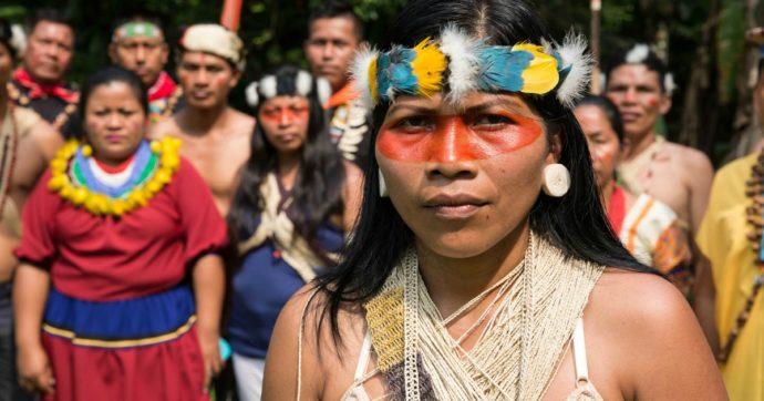 """""""Da indigena difendo il mio popolo dal capitalismo che ci saccheggia. Siamo tutti collegati alla terra"""""""