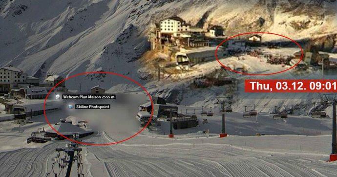 Sci, ancora code sulle piste in Val d'Aosta? Il caso della webcam di Cervinia e l'immagini del piazzale oscurata
