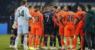 """Disse """"negru"""" durante Psg-Basaksehir: il quarto uomo Coltescu sospeso fino a fine stagione. Ma per l'Uefa non fu razzismo"""