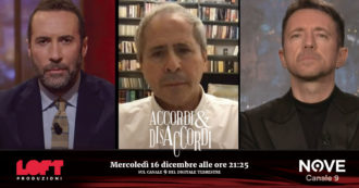 """Covid, Andrea Crisanti ad Accordi&Disaccordi (Nove): """"Vaccino obbligatorio? In questa fase no, ma varrebbe la pena tra 5-6 mesi"""""""