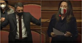 """Recovery Plan, applausi a Renzi dai banchi dell'opposizione. La vicepresidente di Fratelli d'Italia, Rauti: """"Lo saluto. Usa le nostre parole"""""""