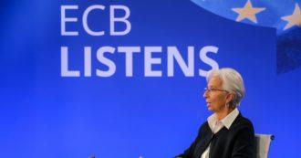 """Bce, invariati gli interventi anti crisi. Lagarde: """"Ancora gravi rischi dalla pandemia, possibile doppia recessione"""". Sale rendimento dei Btp"""