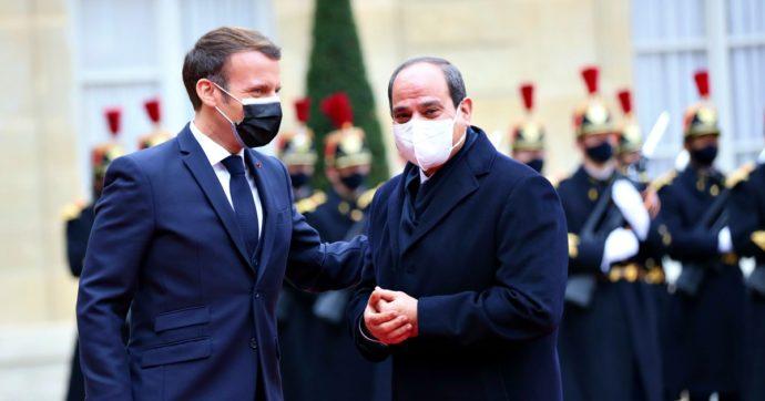 Macron conferisce la Legion d'Onore ad al-Sisi. Ma l'Eliseo tiene nascosta la notizia